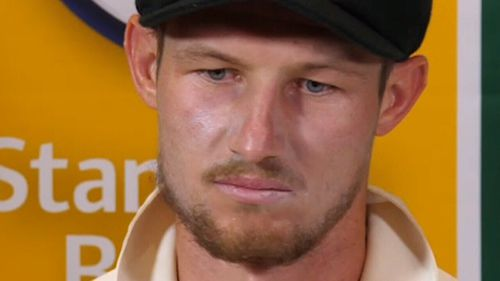 "Bancroft admitted he ""panicked and lied"" about the incident."