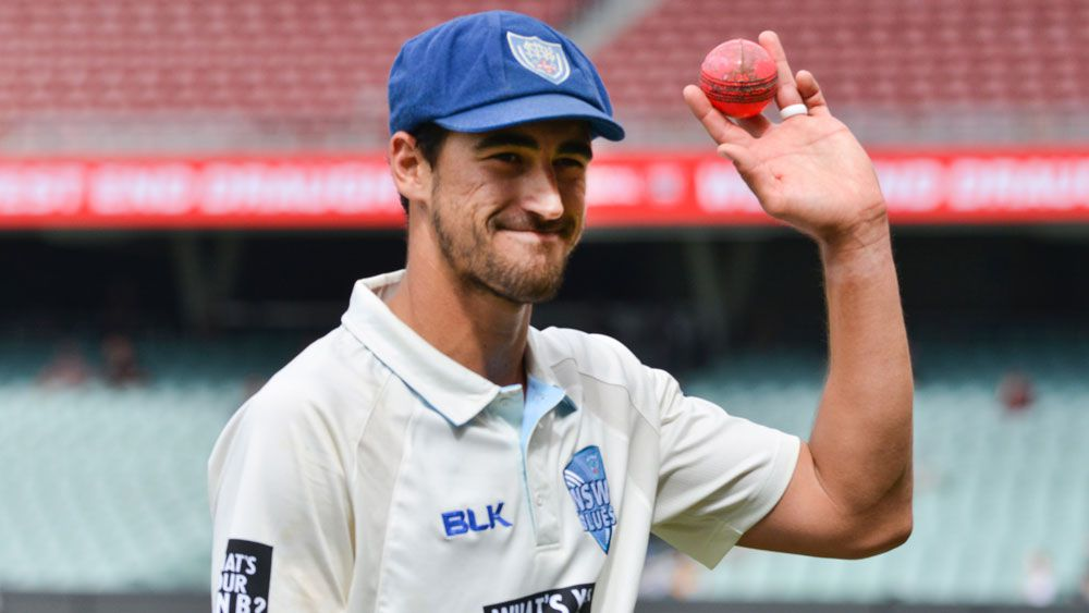 Mitchell Starc blitzes South Australia batsmen in NSW Sheffield Shield win