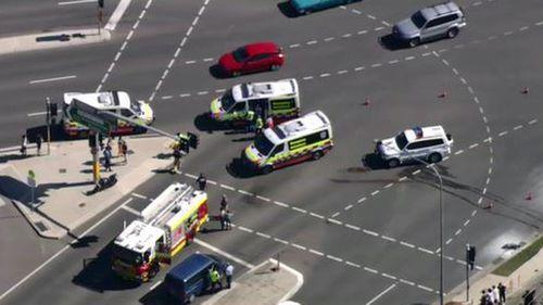 Teen motorbike rider injured after horror Sydney crash