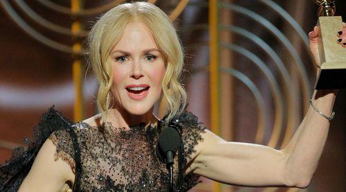 Nicole Kidman has honoured her mother Janelle in her Golden Globes speech. (AAP)