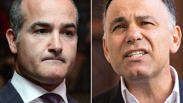 Deputy leader James Merlino gave the names to police yesterday. Among them are opposition treasurer Michael O'Brien, opposition attorney general John Pesutto and Nationals MP Tim McCurdy. Picture: AAP