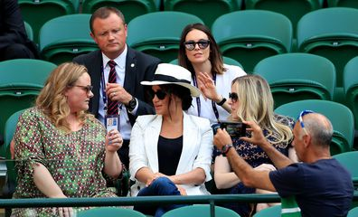 Meghan Markle Wimbledon fan photo ban