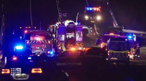 Orange fatal truck crash