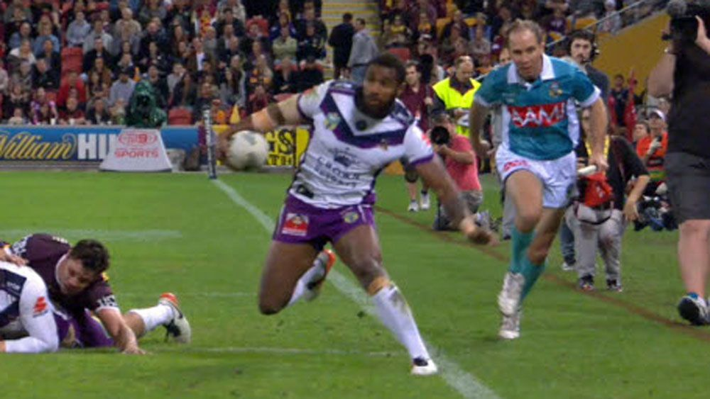 NRL: Touch judge hilarious reaction leaves commentators in stitches