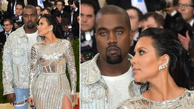 "<p>Rapper Kanye West has been the subject of incredulity after he turned up at the 2016 Met Gala in New York sporting an unusual pair of contacts.<br><br>Accompanied by wife, model Kim Kardashian, West was quizzed by an array of red carpet journalists over his peculiar choice of eyewear.<br><br>He responded with a single word – ""Vibes"" – before exiting the interview.<br><br>West has appeared previously with the same ""wolf-like"" contacts while performing his single ""Wolves"" at the SNL 40th Anniversary Special back in February.<br><br>The Met Gala is an annual fundraising gala held in New York City for the benefit of the Metropolitan Museum of Art's Costume Institute.<br><br>The theme of this year's gala is ""Manus x Machina: Fashion in an Age of Technology"".<strong></strong></p><p><strong>Click through for more examples of the dazzling dresses on display at this year's gala.</strong></p>"