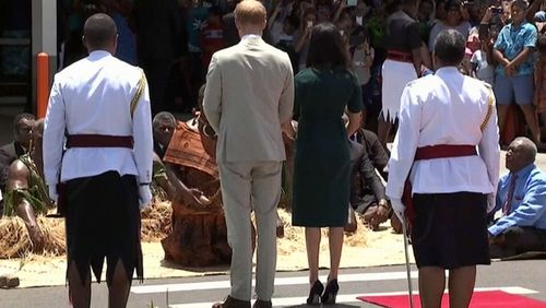 Royal Tour: Prince Harry and Meghan Markle in Tonga