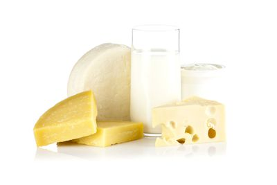 LIMIT: Whole-fat dairy — such as cheese or butter