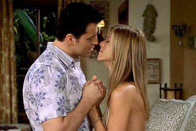 """Joey and Rachel going out?"" Ross exclaimed when he found out about this pairing. ""It's like [Rachel] and me going out, only weirder!"" Couldn't agree more, Ross. Jennifer Aniston and Matt LeBlanc's thankfully brief onscreen coupling was a stunt that should <I>never</I> have happened."