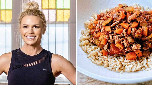 Sonia Kruger's healthy turkey bolognese recipe