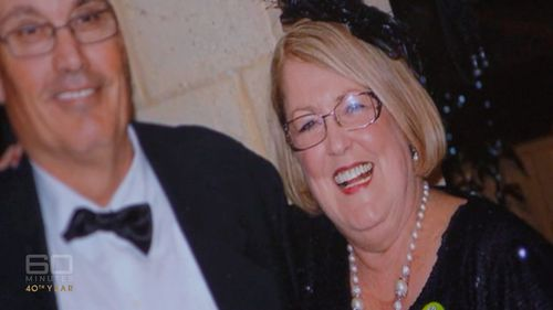 John Antulov's mother Trish died tragically earlier this year when she suffered a heart attack at her desk. Picture: 60 Minutes