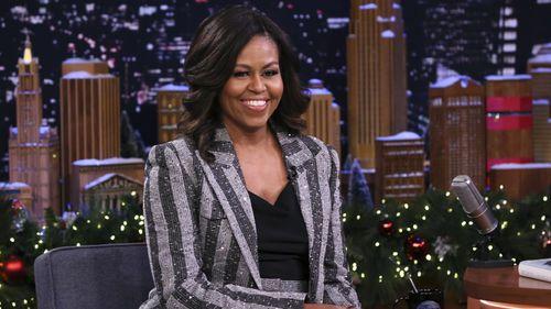 Michelle Obama on Jimmy Fallon