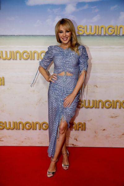 Kylie Minogue at Melbourne premiere of Swinging Safari on December 14, 2017