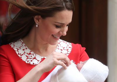 The birth of Prince Louis, April