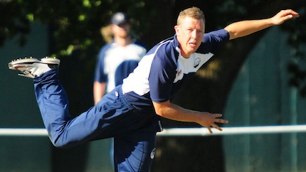Geelong legspinner Jeremy Hart. (Supplied)