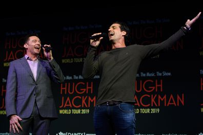 Hugh Jackman and Andy Lee