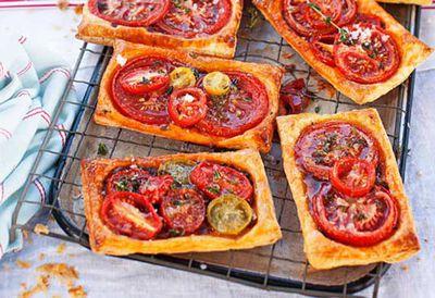 Tomato galettes