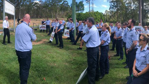 Queensland prison officers strike for second day