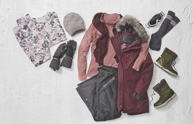 Aldi Snow Gear sale women's range