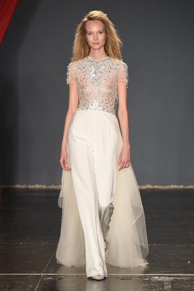 Jenny Packham, New York Bridal Fashion Week 2017<br />