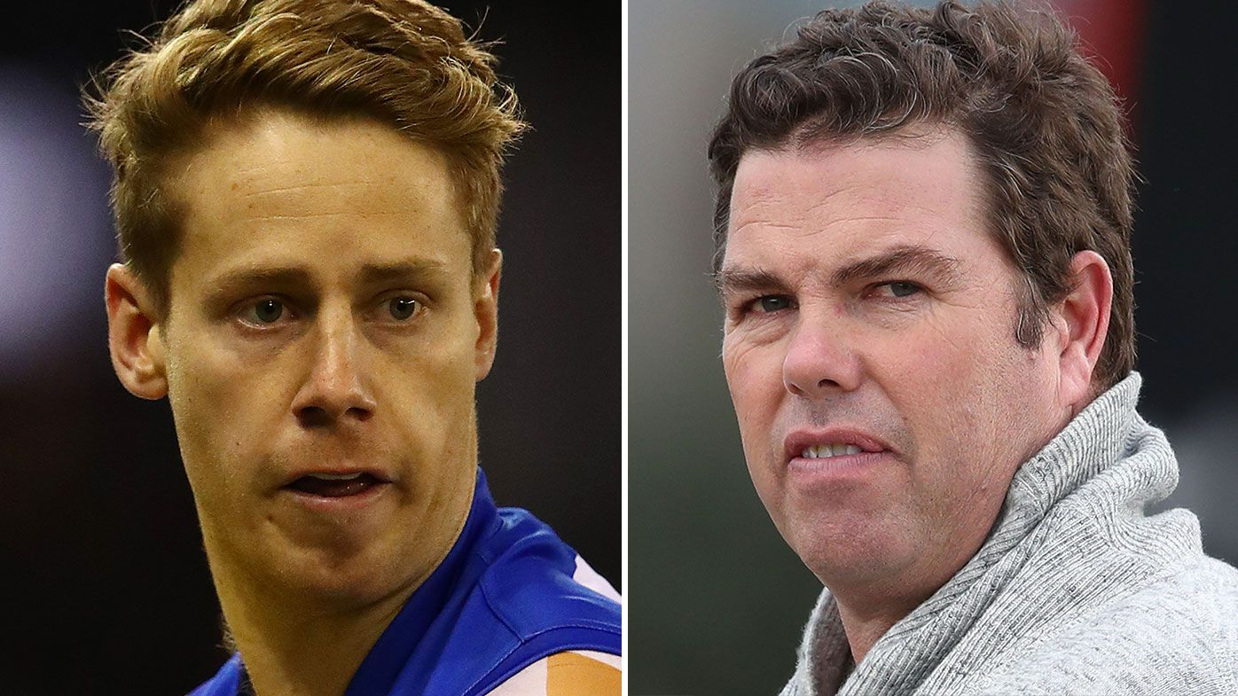 Western Bulldogs unimpressed by manager Paul Connors' involvement in Lachie Hunter controversy