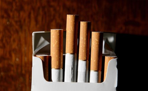 The ad also stated that no cigarette company had done anything like this before. (AAP)