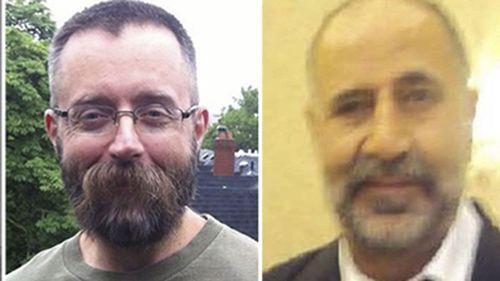 Victims Andrew Kinsman, 49, and Majeed Kayhan, 58.