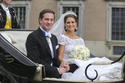 Princess Madeleine of Sweden: The Modern Fringe tiara