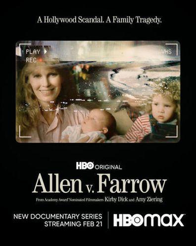 Actor/director Woody Allen and Mia Farrow.
