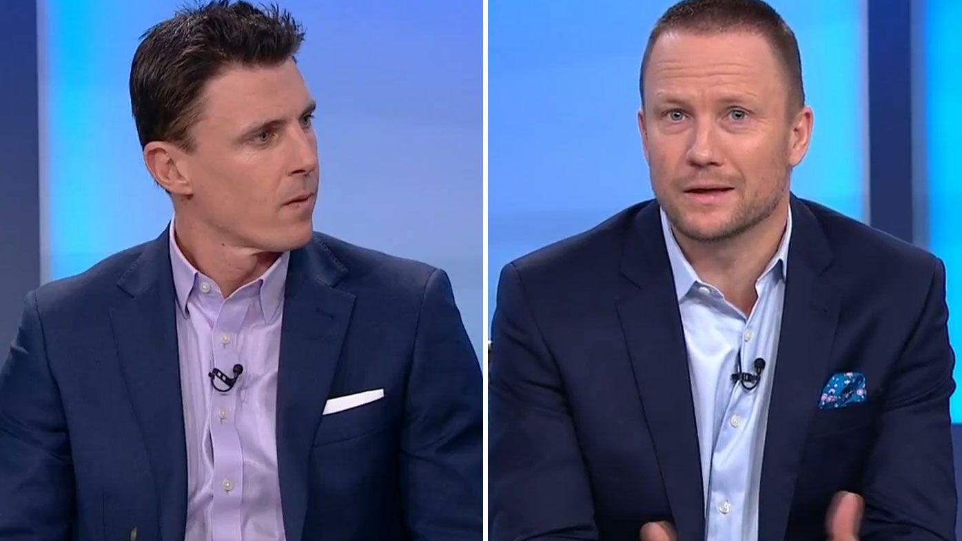 'It makes you feel sick': AFL greats Matthew Lloyd and Nathan Brown slam fan violence at football matches