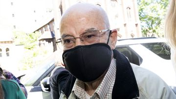 Former Labor MP Eddie Obeid arriving at Darlinghurst Court for his sentencing today. ICAC