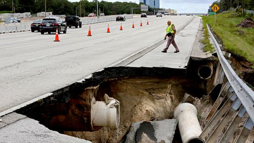 The damage caused by the storm is estimated at about $273 million.