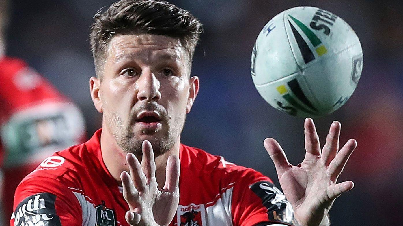 Gareth Widdop's NRL exit confirmed by St George Illawarra Dragons