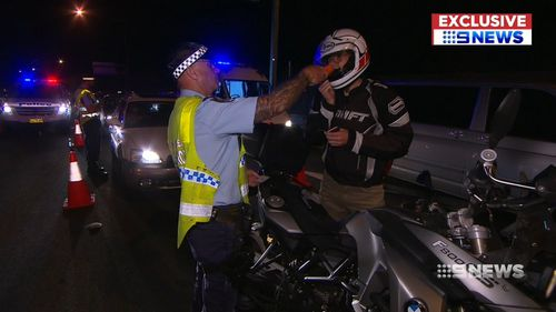 The government is also proposing $100 million for the NSW Police's Traffic and Highway Patrol Command. (9NEWS)