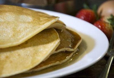 Dairy-free classic pancakes