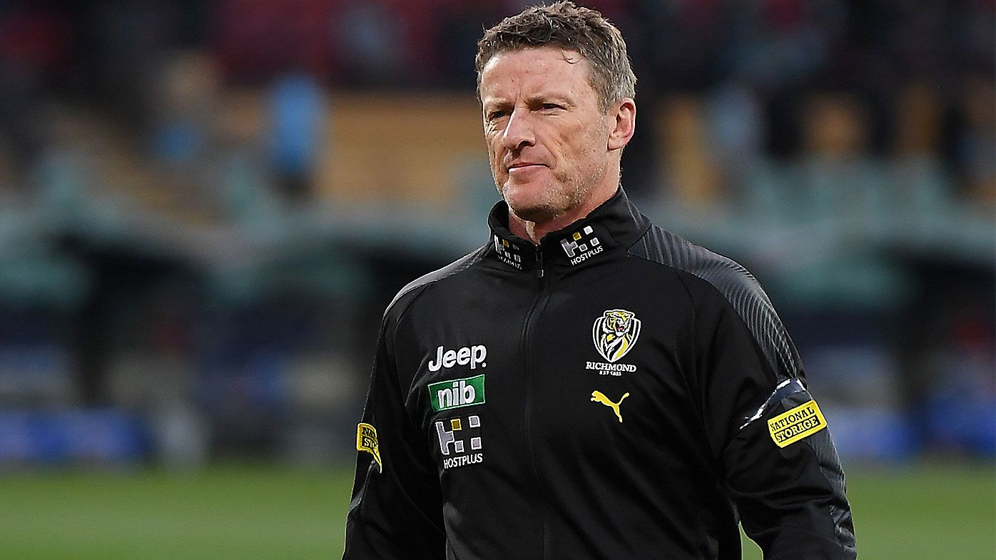 Damien Hardwick fronts Tigers players over new relationship with club staffer
