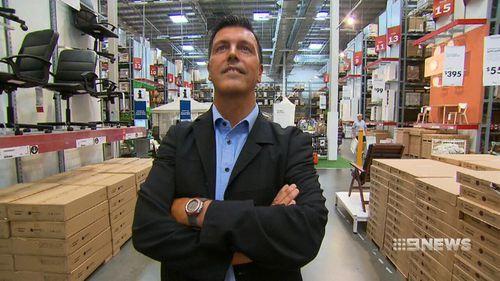 Ikea Australia CEO Jan Gardberg. (9NEWS)