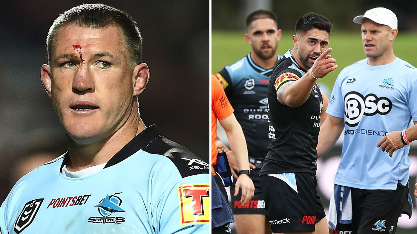 Paul Gallen, Shaun Johnson
