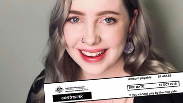 Dimity Rumley is still paying off a $4500 Centrelink debt she doesn't believe she owes.