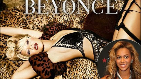 Was Beyonce's skin 'whitened' for this ad?
