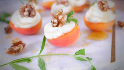 Apricots are the perfect pairing with blue cheese