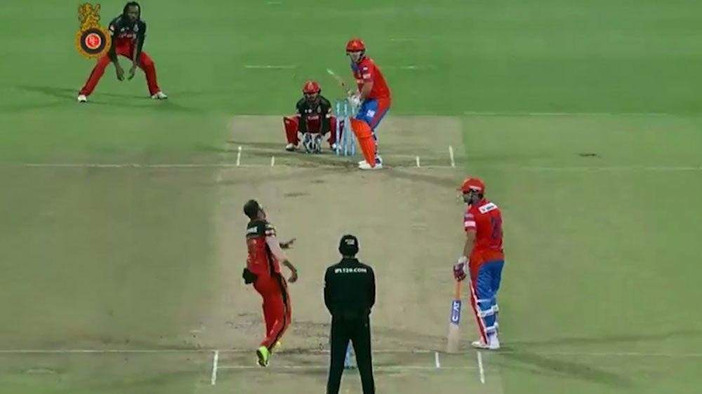 Australian Finch hits 105-metre six in Gujarat Lions win over Royal Challengers of Bangalore in IPL
