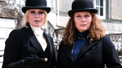 Jennifer Saunders is writing an Absolutely Fabulous movie