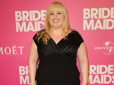 Rebel Wilson made her name in Hollywood film Bridesmaids in 2011.