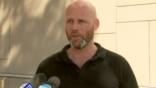 Ute driver Aaron spoke to 9NEWS this morning. (9NEWS)