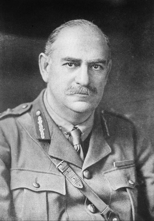 Sir John Monash was an innovative Australian commander in WWI, and a new centre at the French town of Villers-Bretonneux will bear his name. (Australian War Memorial/AAP)