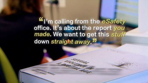 The government's e-safety workers are determined to crack down.