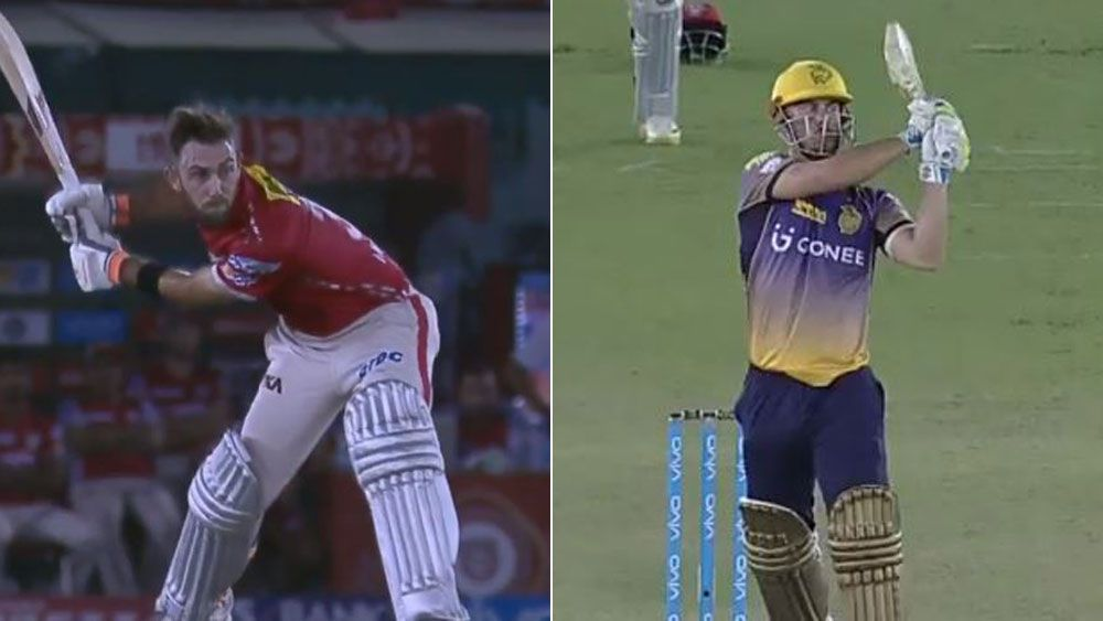 Big-hitters Glenn Maxwell and Chris Lynn face off in a battle royale in IPL