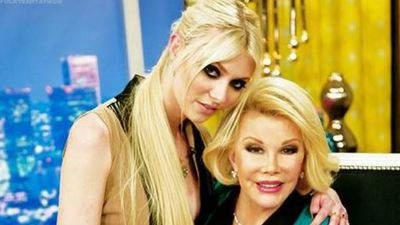 @taylormomsen They won't ever make another one like her... #RIP Joan Rivers, you will always be amazing, I was blessed to meet you (Twitter)
