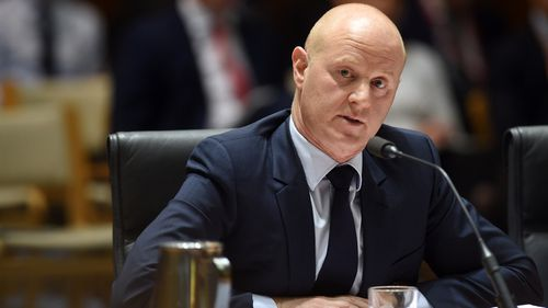 CBA boss Ian Narev fronts the inquiry today. (AAP)