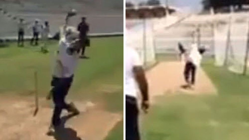 Cricket: Young star stuns with ferocious ambidextrous bowling